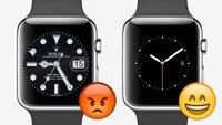 Apple Watch und Co: Uhrenhersteller gehen gegen nachgemachte Ziffernblätter vor