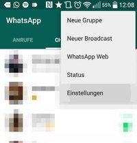 Whatsapp Online Status Zuletzt Online Verbergen Android