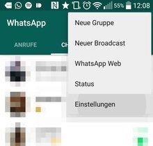 WhatsApps blaue Haken deaktivieren: Schritt-für-Schritt