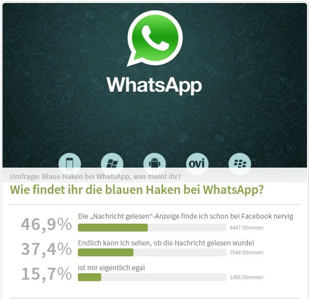 whatsapp status haken