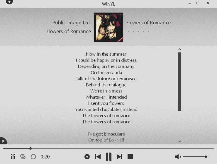 winyl-lyrics-songtexte
