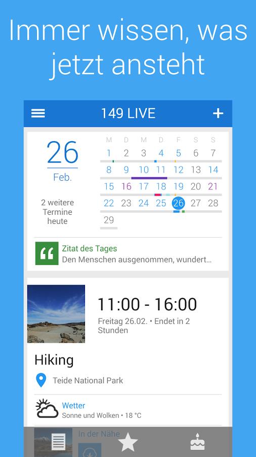 149 live kalender