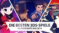 Die 10 besten Nintendo 3DS-Spiele 2014