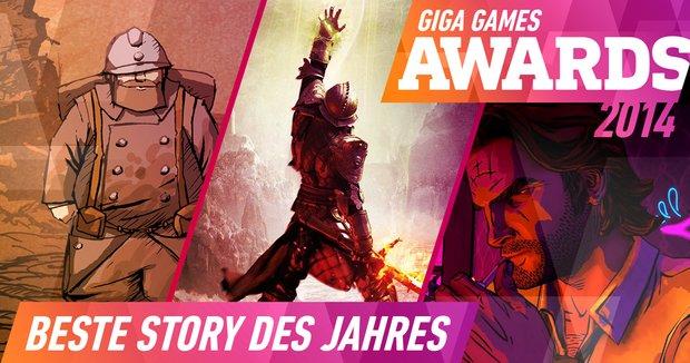 GIGA GAMES Awards 2014: Beste Story des Jahres
