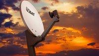 Satellitenschüssel richtig ausrichten – so geht's