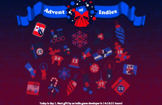 Advent of Indies: Adventskalender rund um Indie-Titel gestartet
