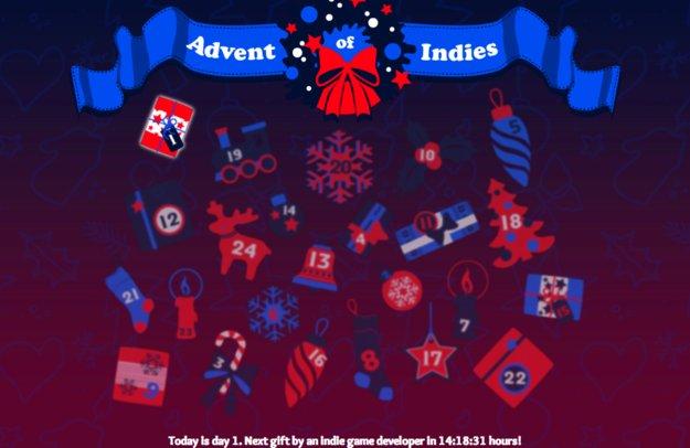 Advent of Indies: Adventskalender rund um Indie-Titel gestartet