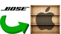Bose-Produkte feiern Comeback im Apple Store