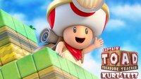 Captain Toad Treasure Tracker Kurztest: Klein, aber Oho!