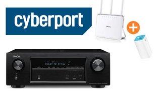7.2-Netzwerk-Receiver mit AirPlay für 299 Euro und WLAN-Router im Angebot
