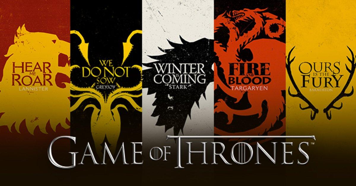 Game Of Thrones Familienwappen