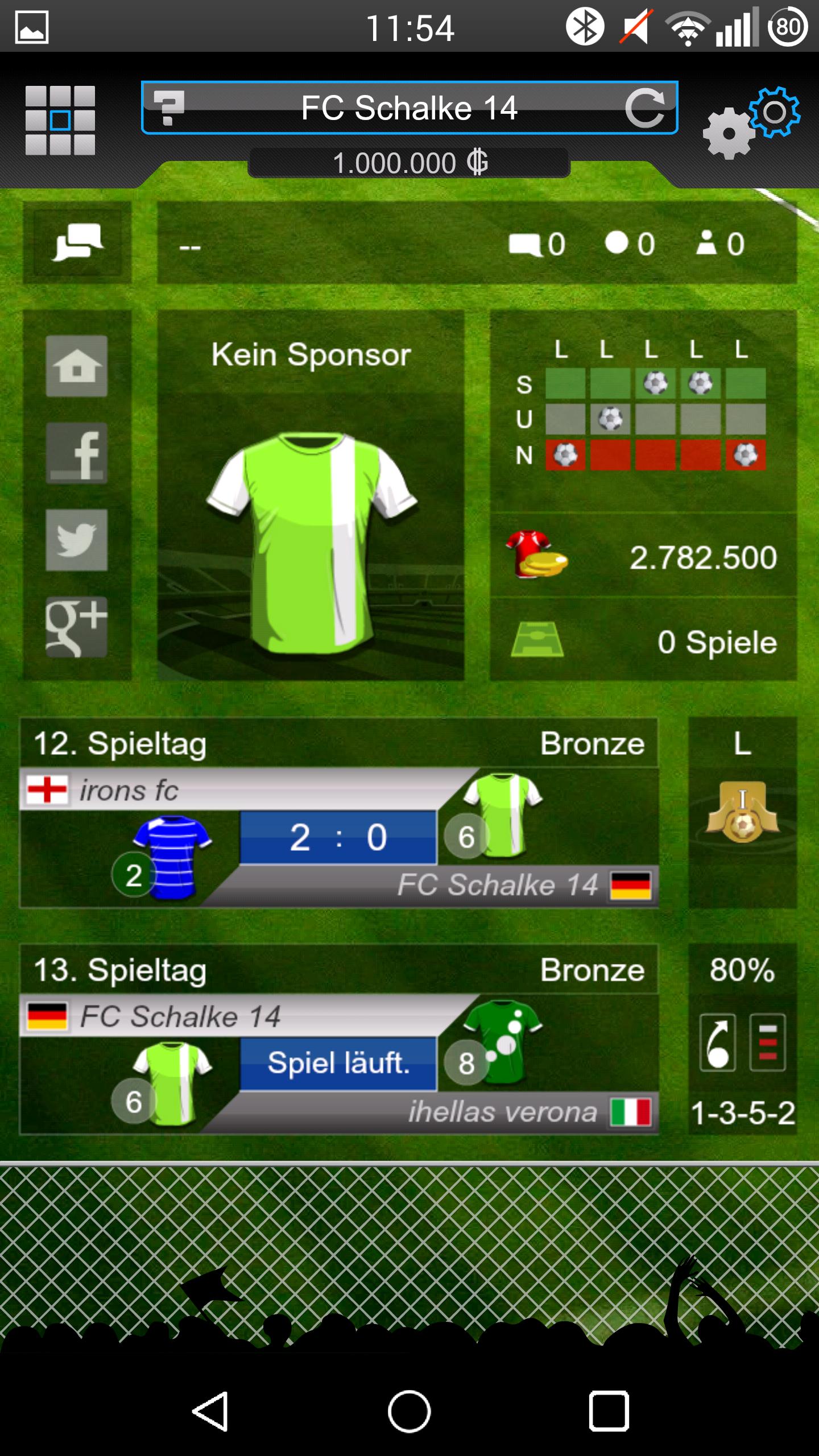 goal fussball manager