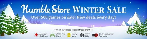 Humble Bundle: Humble Store - Winter Sale mit 500 Angeboten