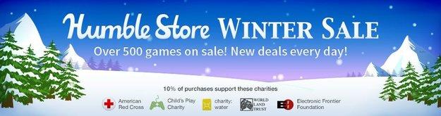 Humble Bundle: Humble Store - Winter Sale mit 500 Angeboten