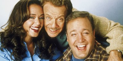 Douglas, Carrie und Arthur aus King of Queens