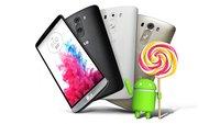 LG G3: Geräte ohne Branding erhalten Android 5.0 Lollipop