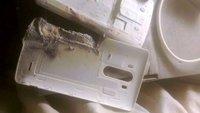 LG G3: Akku explodiert, steckt Bett in Flammen