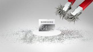 """Praxistest: Samsung-Speicherkarten sind """"schnell und sicher"""""""