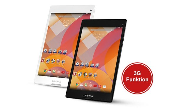 ALDI-Tablet: 8-Zoller Medion Lifetab S8312 mit Octa Core & UMTS-Modul ab 29. Dezember