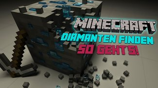 Minecraft: Diamanten finden - So kommt ihr an die Edelsteine