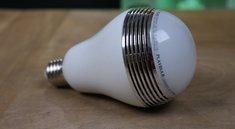 MiPow Playbulb im Test: Es werde Licht. Und Klang