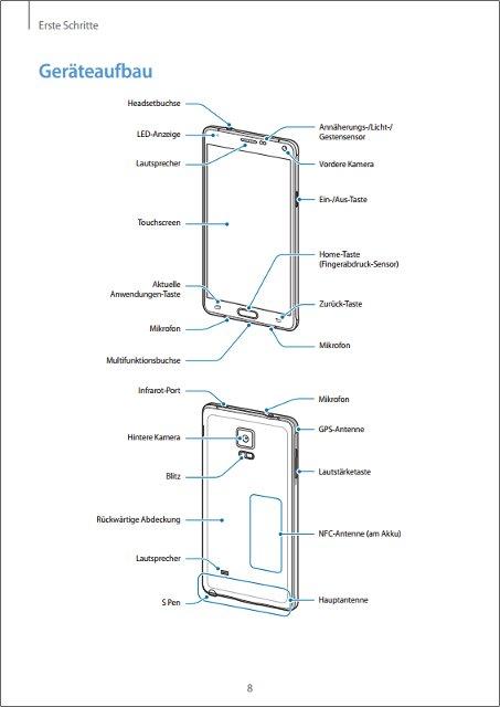 Samsung-Galaxy-Note-4-SM-N910-Bedienungsanleitung