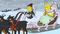 Die Simpsons: Couch-Gag parodiert Disneys Eiskönigin
