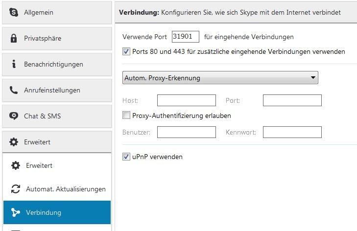 Skype Proxy