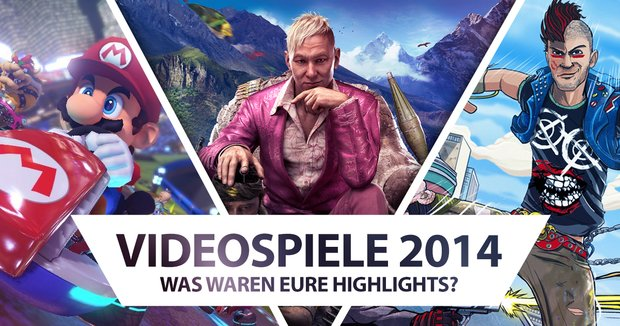 Spiele 2014: Übersicht der wichtigsten Releases