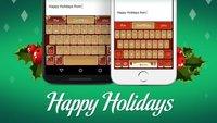 SwiftKey: 2 weihnachtliche (und kitschige) Tastatur-Designs kostenlos