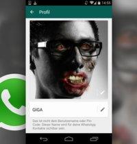 whatsapp profilbilder unscharf