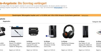Amazon Last Minute Deals: Die besten Technik-Schnäppchen am Montag–mit Wiko Wax, Amazon Fire TV und mehr [Deals]