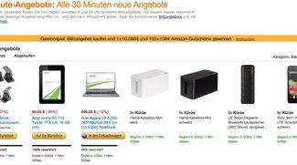 Amazon Last Minute Deals: Die besten Technik-Schnäppchen am Mittwoch – mit Samsung Galaxy S5, Acer Iconia Tab 8, zahlreichen Notebooks und einem 34 Zoll-Monitor [Deals]