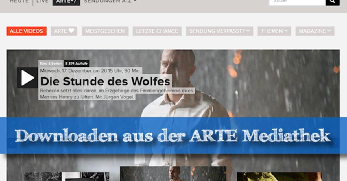 Arte Mediathek Serien