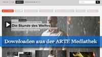 ARTE Mediathek Download: So klappt's!