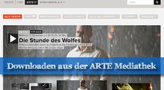 ARTE Mediathek Download: So klappt's!