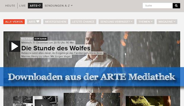 arte mediathek videos