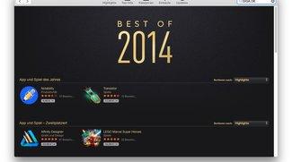 Mac Apps und Spiele: Best of 2014