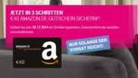 40 € Amazon-Gutschein für neues De-Mail Konto bei der Telekom