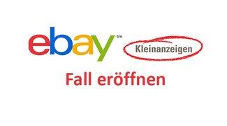 eBay: Fall eröffnen & schließen – so geht's
