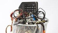 Elektroschrott kostenlos im Briefkasten entsorgen – so geht's