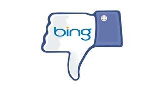 Facebook wirft Suchmaschine Bing raus