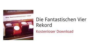 "Google Play: Neues Fanta4-Album ""Rekord"" kostenlos downloaden"