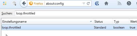Den Firefox-Chat aktivieren: Zuerst in about:config einen Wert ändern