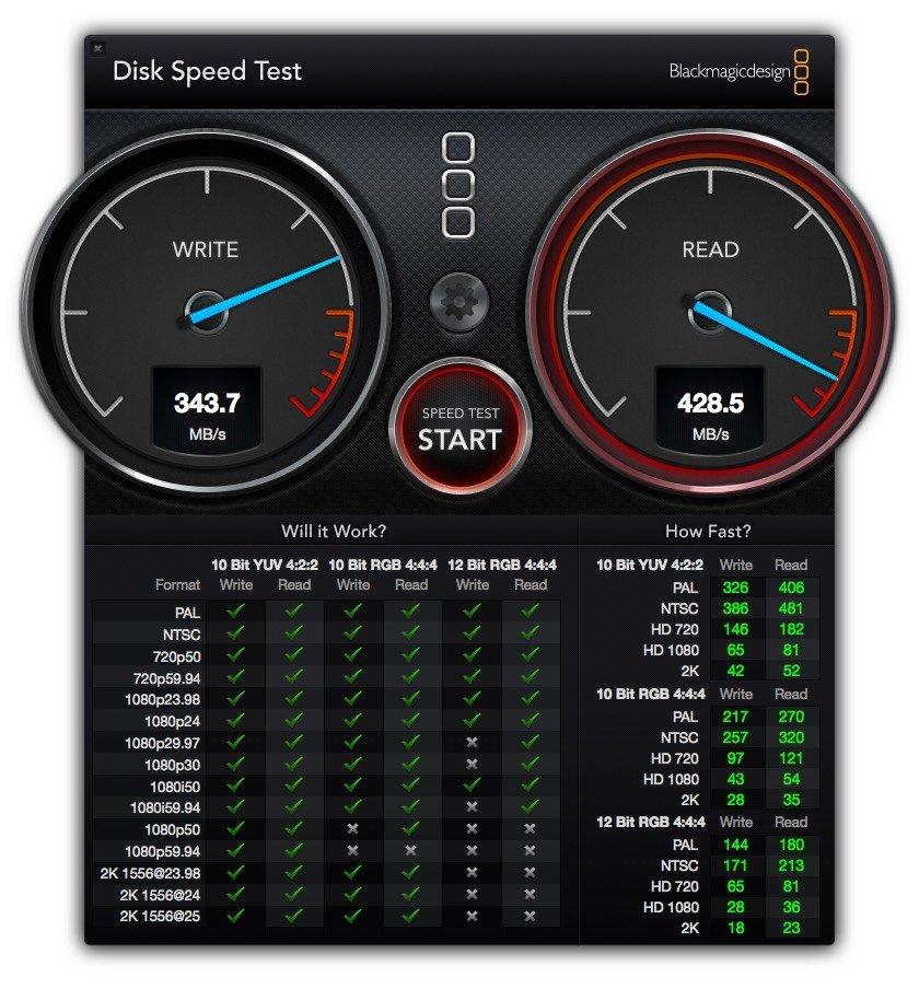 Freecom mSSD im Geschwindigkeitstest