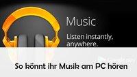 Google Play Music auf PC laden und hören: So geht's