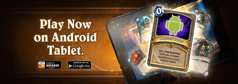 hearthstone warcraftkartenspiel jetzt für android