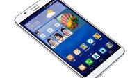 Huawei Ascend GX1: 6-Zoll Mittelklasse-Phablet mit 80,5 Prozent Display-zu-Gehäuse-Verhältnis vorgestellt