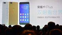 Huawei bedient sich für Namensgebung bei Apple: Honor 6 Plus vorgestellt