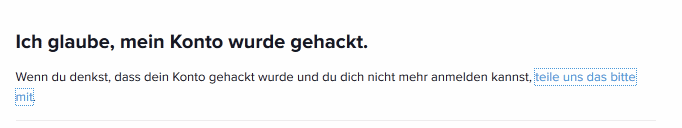 instagram account zurück hacken